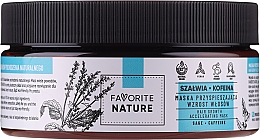 Kup Maska przyspieszająca wzrost włosów z szałwią i kofeiną - Favorite Nature Hair Growth Accelerating Mask Sage & Caffeine