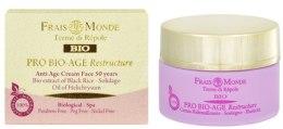 Kup Krem przeciwstarzeniowy do twarzy na dzień 50+ - Frais Monde Pro Bio-Age Restructure AntiAge Face Cream 50Years
