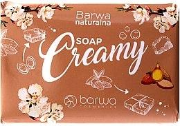Kup Kremowe mydło w kostce z gliceryną - Barwa Naturalna