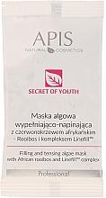 Kup Wypełniająco-napinająca maska algowa z sezamem i kompleksem Linefill - APIS Professional Sekret młodości