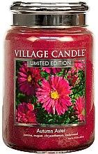 Kup Świeca zapachowa w słoiku - Village Candle Autumn Aster Glass Jar