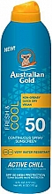 Kup Orzeźwiający spray do ochrony przeciwsłonecznej SPF 50 - Australian Gold Fresh & Cool Continuous Spray Sunscreen Spf50