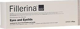 Kup Dermowypełniacz zmarszczek pod oczy i na powieki 4 Plus - Fillerina Eyes And Eyelids Grade 4 Plus