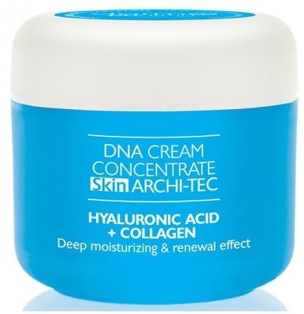 Skoncentrowany krem na twarz, szyję i dekolt Kwas hialuronowy i kolagen - Dermo Pharma DNA Cream Concentrate Skin Archi-Tec Hyaluronic Acid + Collagen