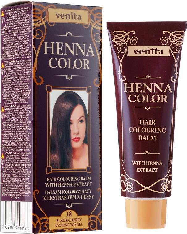 Balsam koloryzujący z ekstraktem z henny - Venita Henna Color