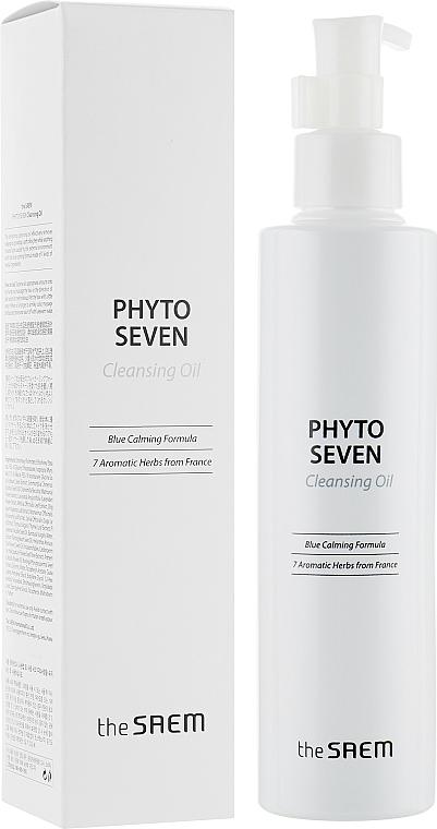 Ziołowy olejek hydrofilowy - The Saem Phyto Seven Cleansing Oil — фото N1