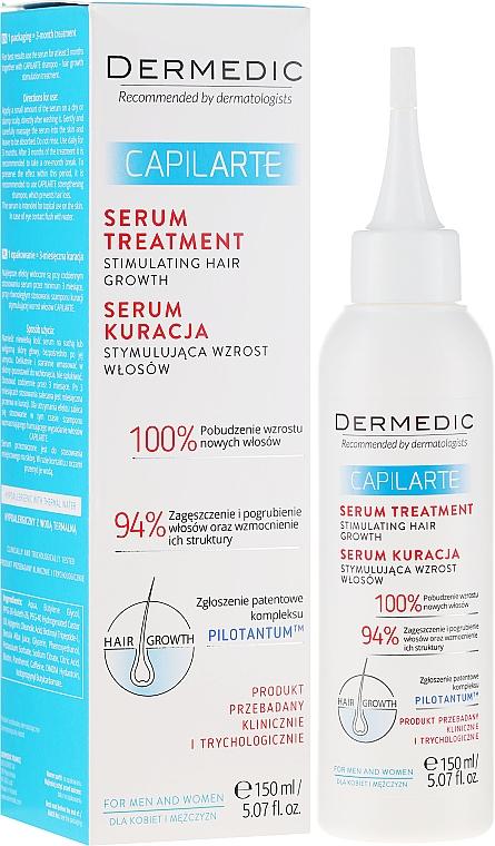 Serum-kuracja stymulująca wzrost włosów - Dermedic Capilarte — фото N1
