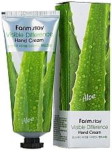 Kup Krem do rąk Aloes - Farmstay Visible Differerce Hand Cream Aloe