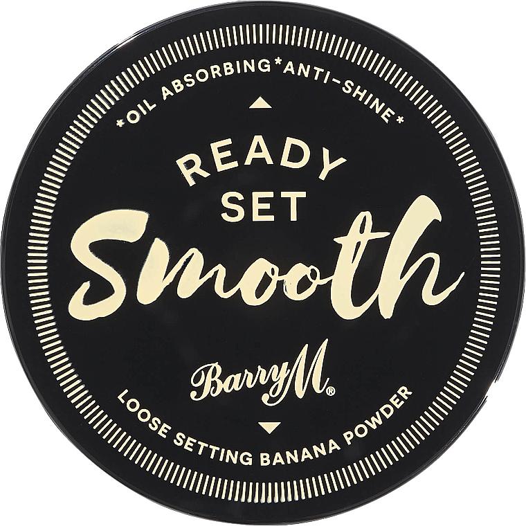 Półtransparentny puder bananowy do twarzy - Barry M Ready Set Smooth Banana Powder — фото N3