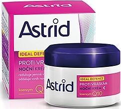 Kup PRZECENA! Przeciwzmarszczkowy krem do twarzy na noc - Astrid Ideal Defence Night Wrinkle Cream *