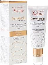 Kup Koloryzujący krem do twarzy przywracający gęstość skóry SPF 30 - Avène DermAbsolu Cream