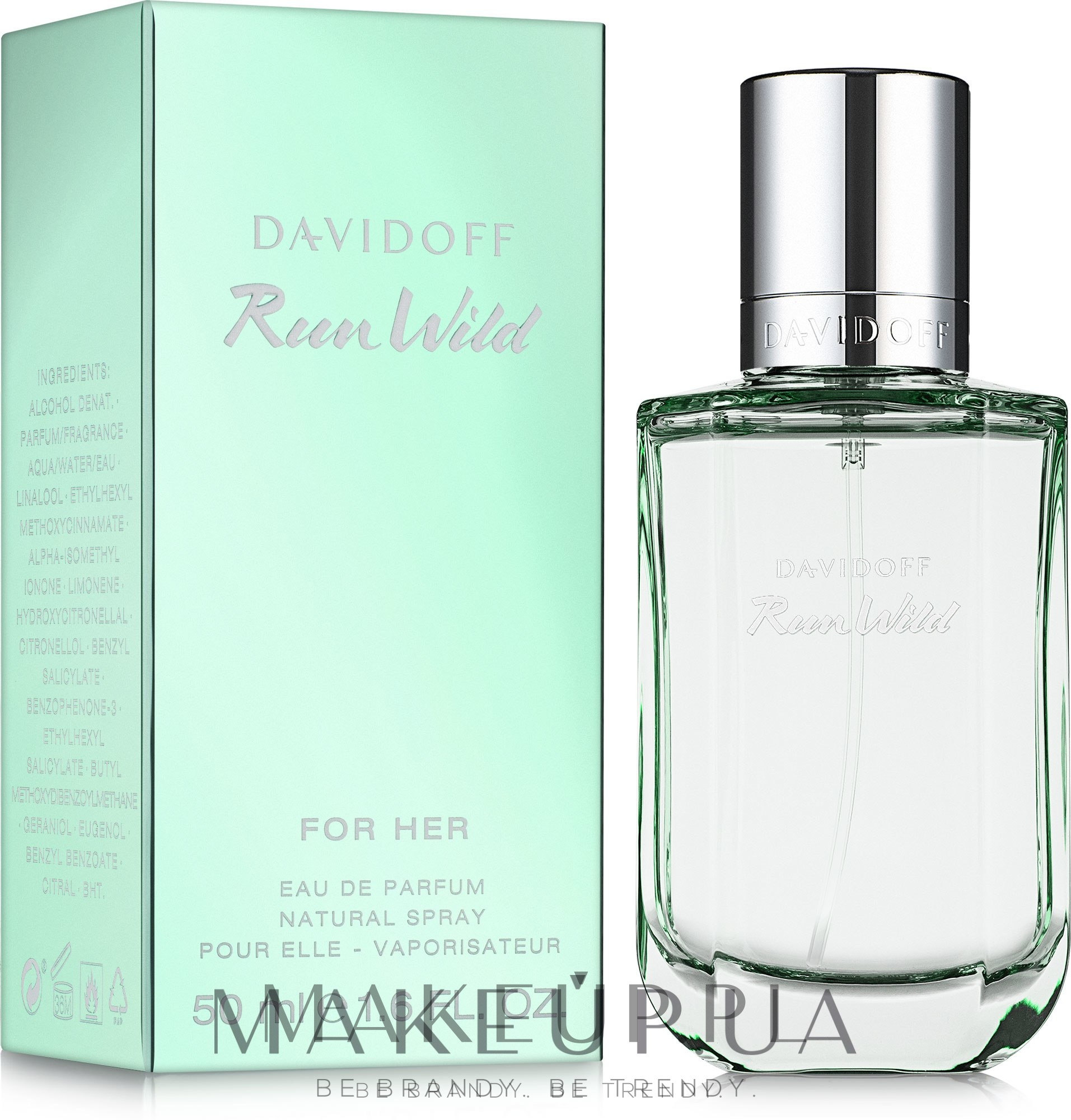 Davidoff Run Wild For Her - Woda perfumowana — фото 50 ml