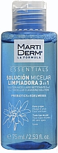 Kup Płyn micelarny do oczyszczania twarzy - MartiDerm Essentials Micellar Solution Cleanser 3in1