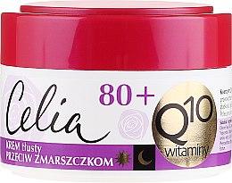 Kup Krem tłusty przeciw zmarszczkom z enzymem Q10 80+ - Celia