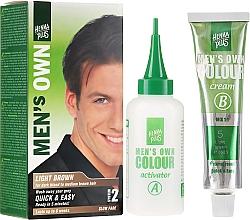 Kup Półtrwała farba do włosów, brody i wąsów dla mężczyzn - Henna Plus Men's Own Colour