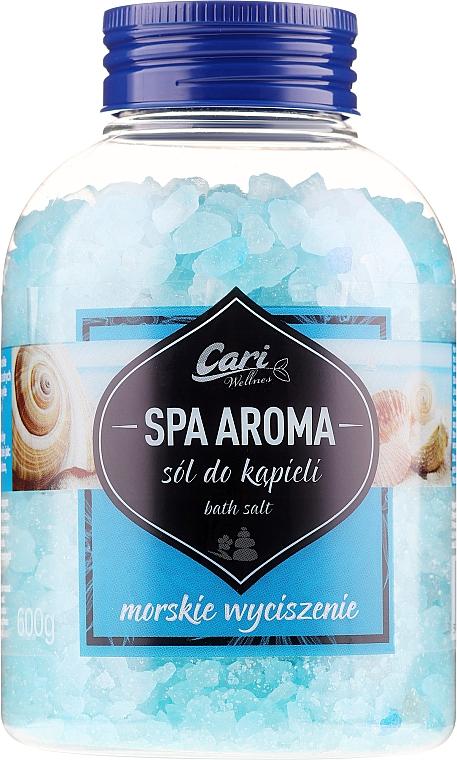 Sól do kąpieli Morskie wyciszenie - Cari Spa Aroma