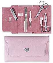 Kup Zestaw do manicure'u Palmelato Rose - Credo Solingen Luxurious Manicure Set