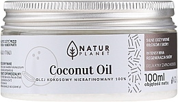 Kup Nierafinowany olej kokosowy - Natur Planet Coconut Oil