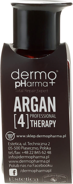 Multifunkcyjne serum do włosów, ciała i paznokci - Dermo Pharma Professional Argan[4]Therapy