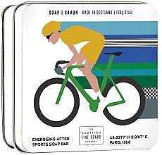 Kup Mydło do ciała dla aktywnych w metalowej puszcze - Scottish Fine Soaps Cycling Sports Soap In A Tin