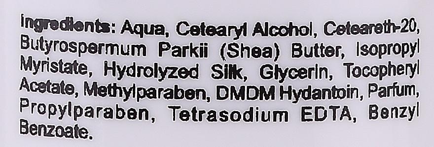 Krem do rąk Biała czekolada - Silcare Quin Protein Therapy Hand Cream — фото N3