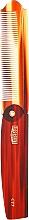 Kup Składany grzebień do włosów dla mężczyzn - Uppercut Deluxe CT7 Tortoise Flip Comb