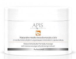 Kup Naturalne masło shea do masażu ciała z olejem arganowym i ekstraktem z pomarańczy - APIS Professional Orange TerApis