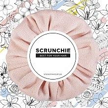 Kup Brzoskwiniowa gumka do włosów Suede Classic - Makeup