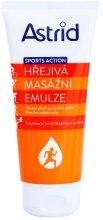Kup Rozgrzewająca emulsja do masażu - Astrid Sports Action Warm Massage Cream