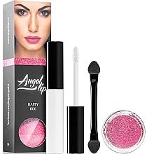 Kup Zestaw - Di Angelo Angel Lips (base/4ml + glitter/3g)