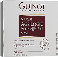 Kup Przeciwzmarszczkowa maska do okolic oczu - Guinot Age Logic Eye Mask