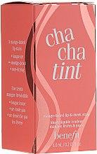 Róż w płynie do ust i policzków - Benefit Chachatint Mango-tinted lip & Cheek Stain (miniprodukt) — фото N1