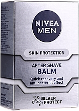Kup Balsam po goleniu Skin Protection - Nivea For Men Silver Post Shave Balm