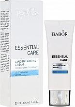 Kup Krem do skóry suchej - Babor Essential Care Lipid Balancing Cream