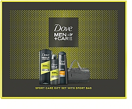 Kup Zestaw - Dove Men+Care Sport Active Fresh (deo/150ml + sh/gel/400ml + shm/250ml + bag)