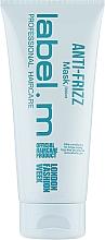 Kup Wygładzająca maska do włosów - Label.m Anti-Frizz Mask