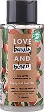 Kup Nawilżający szampon do włosów suchych Masło shea i drzewo sandałowe - Love Beauty&Planet Shea Butter & Sandalwood