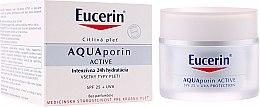 Kup Krem do twarzy - Eucerin AquaPorin Active Deep Long-lasting Hydration For All Skin Types SPF 25 + UVA