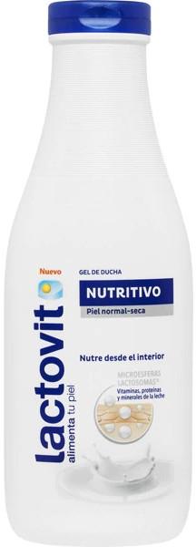 Odżywczy żel do mycia ciała - Lactovit Nourishing Shower Gel — фото N1