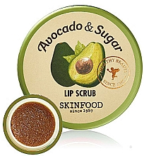 Kup Peeling do ust - Skinfood Avocado and Sugar Lip Scrub