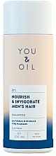 Kup Szampon do włosów dla mężczyzn Odżywienie i pobudzenie - You & Oil Nourish & Invigorate Men's Hair Shampoo