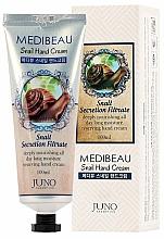 Kup Krem do rąk ze śluzem ślimaka - Juno Medibeau Snail Hand Cream