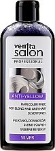 Kup Płukanka do włosów blond i siwych Srebrne refleksy - Venita Salon Anty-Yellow Blond & Grey Hair Color Rinse Silver