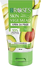 Kup Regenerujący krem do rąk Olej awokado - Nature of Agiva Roses Vege Salad Regeneration Hand Cream