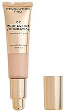 Kup Krem CC - Revolution Pro CC Cream Perfecting Foundation SPF 30