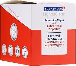 Kup Oczyszczające chusteczki antybakteryjne - Novaclear Hands Clear Refreshing Wipe With Antibacterial Properties