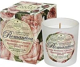 Kup Świeca zapachowa Róża i piwonia - Nesti Dante Romantica Florentine Rose & Peony