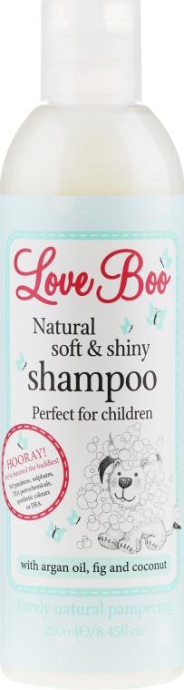 Naturalny delikatny szampon do włosów dla dzieci - Love Boo Natural Soft And Shiny — фото N1