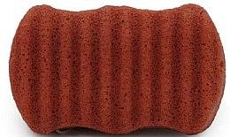Kup Gąbka konjac do twarzy i ciała z czerwoną glinką - Bebevisa Konjac Sponge