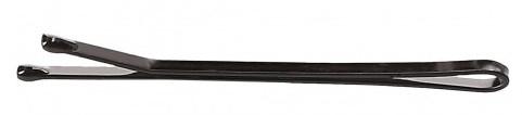 Wsuwki, 4 cm, czarne - Lussoni Hair Grips Black — фото N1
